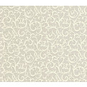 Tapetti 1838 Wallcoverings Brodsworth, harmaa, 0,52x10,05m