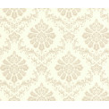 Tapetti 1838 Wallcoverings Broughton, valkoinen/beige, 0,52x10,05m