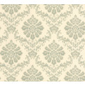 Tapetti 1838 Wallcoverings Broughton, sinivihreä, 0,52x10,05m