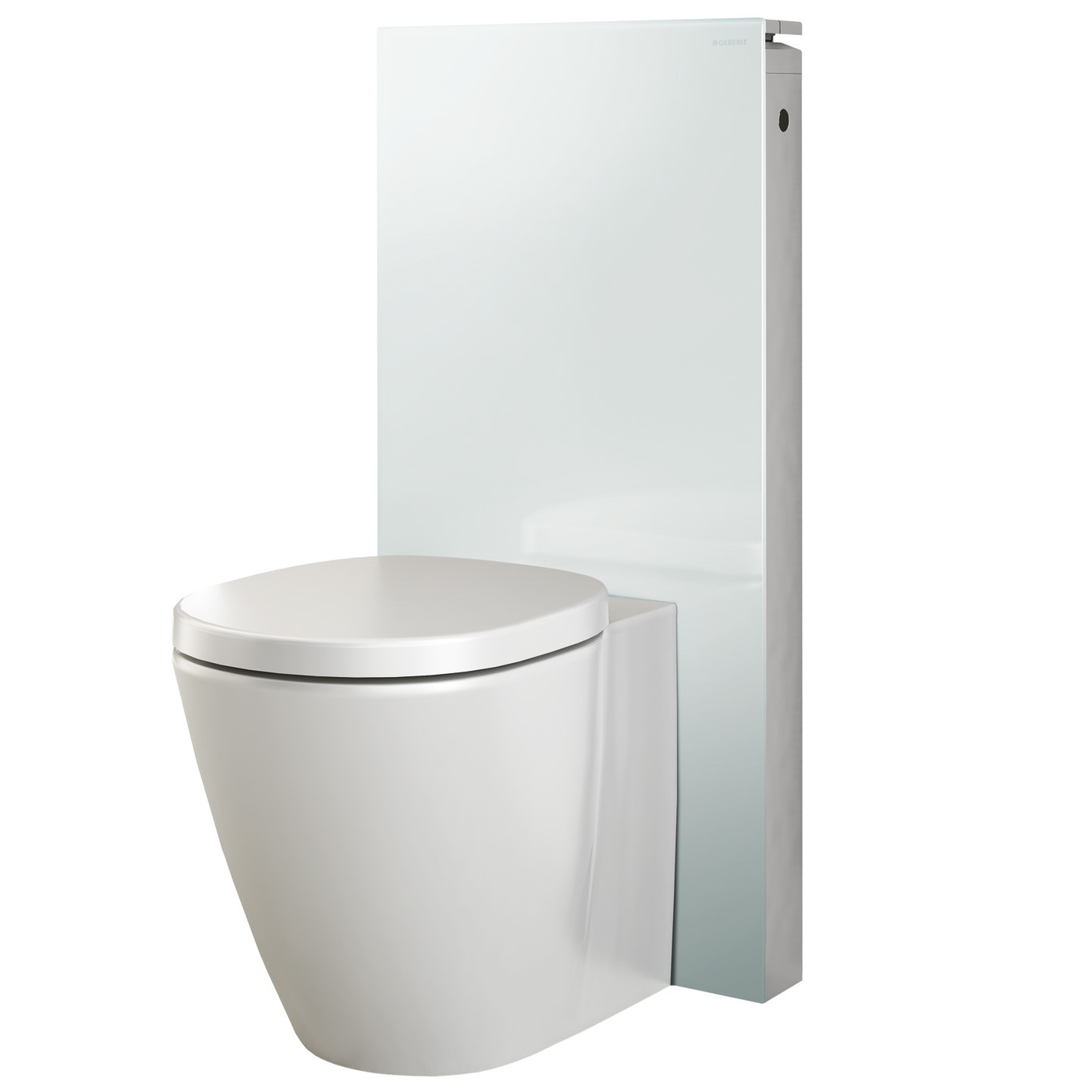 Seinä-WC-elementti Monolith back-to-wall wc:lle, valkoinen, 101cm