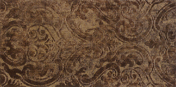 OLO-EH Solid Jet Damasco Marron Decor 25x50cm