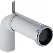 Viemäriasennussarja lattia-WC:lleGeberit, liitoskäyrä 90° jatkolla, S/P lukko