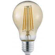 LED-Lamppu Trio E27, filament vakio 8W, 700lm 2700K ruskea switch dimm