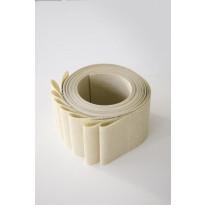 Lamelliverho 600x2500mm Perle beige leveys 89mm x 8 kpl/pak