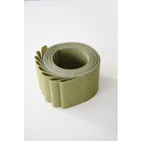 Lamelliverho 600x2500mm Perle vihreä leveys 89mm x 8 kpl/pak