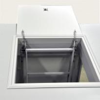 Hätäpoistumisluukku PP-Tuote, 620x620 mm