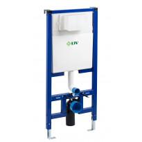 WC-Elementti LIV FIX-540 slim-malli ahtaisiin tiloihin, sis.pex-liittimen