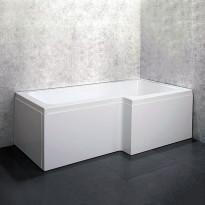 Kylpyamme Bathlife Behag 1675, 1680x855/705mm, 180l, Tammiston poistotuote