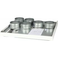 Kattoasennuslevy Vallox 121 SE/MC R, Verkkokaupan poistotuote