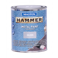 Metallimaali Hammer Vasaralakka, 750ml, eri värivaihtoehtoja (2kpl)