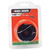 Trimmerilanka ja kela Reflex, BLACK+DECKER A6481, 10m