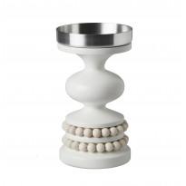 Kynttilänjalka Aarikka Keisarinna, 22 cm, valkoinen