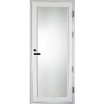 Parvekeovi Aarni PO, kokolasinen, 9x21, karmi 115mm, valkoinen