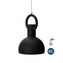 Riippuvalaisin Ring Lamp, musta