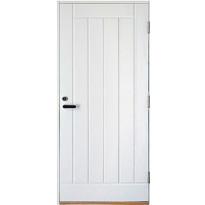 Ulko-ovi Aarni Umpi Plus 9x21, karmi 115mm, valkoinen