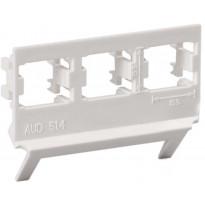 Kanavakaluste liitinadapteri AUD51.4 3x RJ 45 LexCom