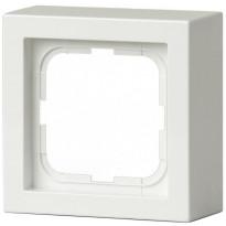 Pintakehys Impressivo 1-osainen 85mm h=40mm valkoinen