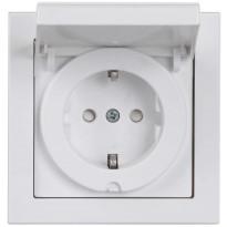 Pistorasia Impressivo1S/16A/250V/IP44 UPJ 0X valkoinen