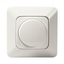 LED-kiertonuppisäädin Jussi 6523UJGL-214 valkoinen