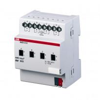 Tuloyksikkö Kytkinyksikkö 230 VAC, 4 x 10 A KNX SA/S4.10.1