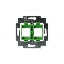 Telerasian runko, vihreä, 2 x RJ-45 Systimax liittimelle