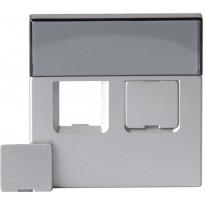 Impressivo alumiini keskiölevy 2xRJ45