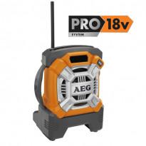 Työmaaradio PRO18V - BR 18C, ei sis. akkua/laturia