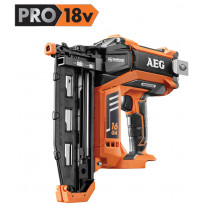 Akkuviimeistelynaulain AEG Powertools B16N18-0 PRO18V 16G, ei sis. akkua/laturia, Tammiston poistotuote