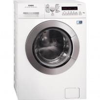 Edestä täytettävä kuivaava pesukone AEG L77696NWD, 1600rpm, 9/6kg