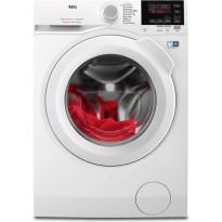 Edestä täytettävä pesukone AEG, L6FBE740G 1400 rpm 7 kg