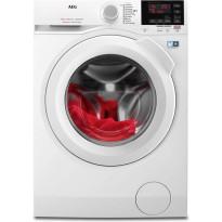 Edestä täytettävä pesukone AEG, L6FBN842G 1400 rpm 8kg