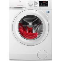 Edestä täytettävä pesukone AEG, L6FBM842I 1400 rpm 8 kg