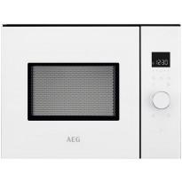 Mikroaaltouuni AEG MBB1755SEW, 50cm, integroitava, valkoinen