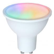 LED-älylamppu Airam SmartHome, värivaihto, GU10, 2700-6500K