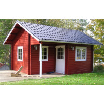 Lomamökki Folkstugan 5450x3950x3828 mm 24 m² 44 mm