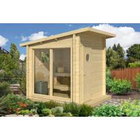 Sauna Olli 2363x2142x2142 mm 4 m² 44 mm