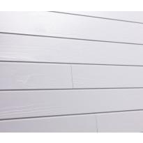 Sisustuspaneeli Aure STS PN, 15x120x2050mm, puhtaan valkoinen