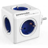 Pistorasia Allocacoc PowerCube Original, 5-osainen, sininen/valkoinen
