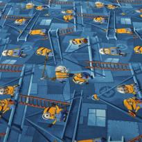 Lastenhuoneen matto Minions, eri kokoja