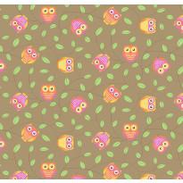 Lastenhuoneen matto Pöllö, eri kokoja