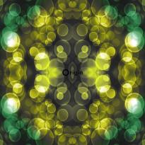 Tapetti Urban Funky 337201, 0.53x10.05m, keltainen/vihreä