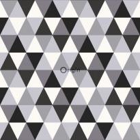 Tapetti Urban Funky 347202, 0.53x10.05m, valkoinen/musta/harmaa