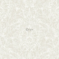 Tapetti Raw Elegance 347306, 0.53x10.05m, hopea/valkoinen