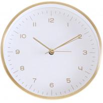 Herätyskello AmandaB Collection Everyday, 15cm, kulta/valkoinen