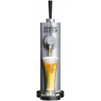 Oluthana Nordic Beer Tap, DraftTower Silver