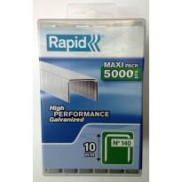 Sinkilä Rapid, 140/10mm, 5000kpl, muovirasiassa