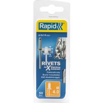 Vetoniitti Rapid, 4.0X14mm, RST, 50kpl