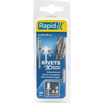 Vetoniitti Rapid, 4.8X18mm, RST, 50kpl
