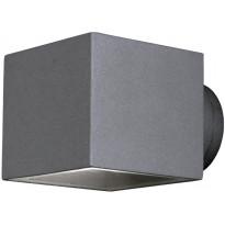Seinävalaisin Aneta Ekerum, neliö 100x135x90 mm, ylös/alas harmaa