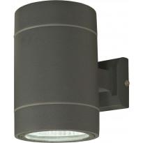 LED-ulkoseinävalaisin Aneta Cyklo, alas-ylösvalo, IP54, tummanharmaa